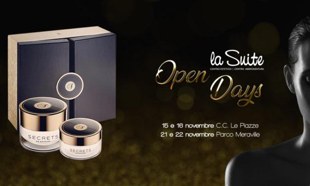 Open Days La Suite: promo di Novembre su trattamenti viso